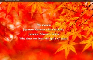 Japanese manner school